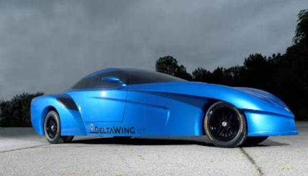 DeltaWing GT blue buck